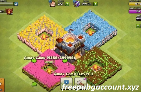 Lists of CoC Free Account Work 100% 2019