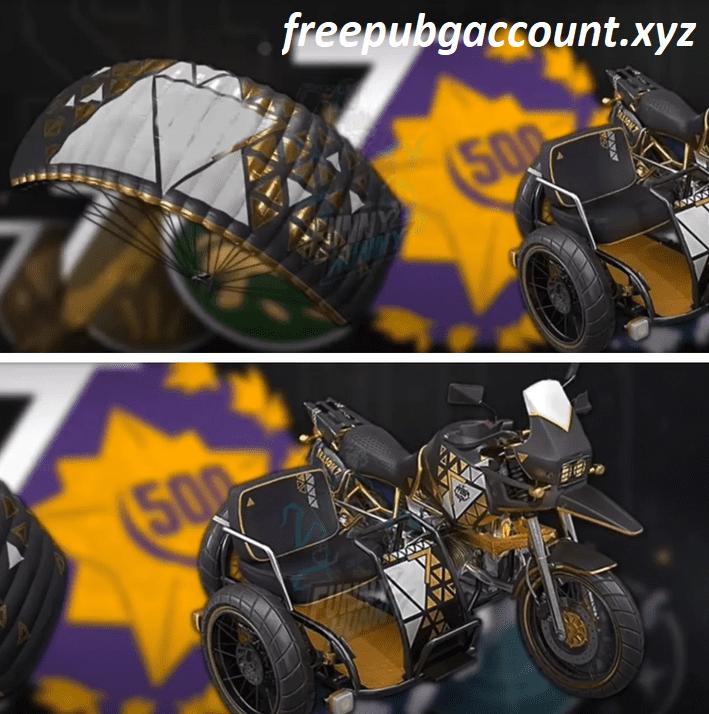 New Parachute PUBG Mobile Season 15