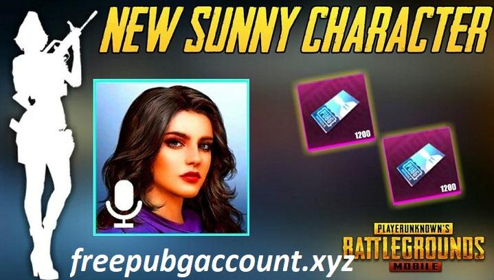 Sunny New Character PUBG Season 15